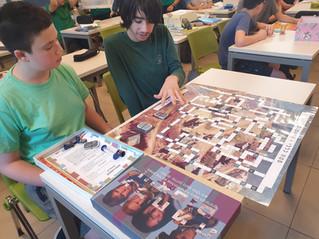 יצירת משחקי קופסה, הערכה חלופית בתחום העברית