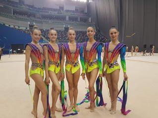 נצחון לנבחרת הצעירה בהתעמלות אומנותית