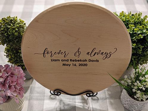 Barrel Head Guestbook   Wedding Sign