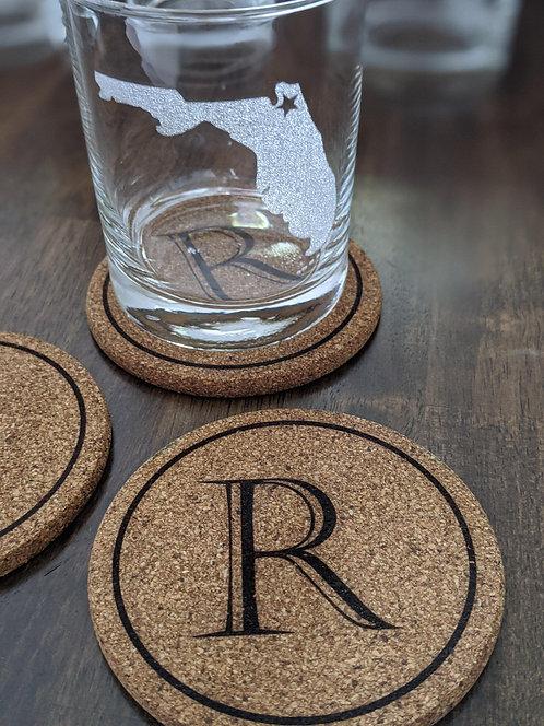 Cork Coasters (Set of 4)