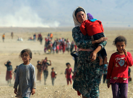 CHRISTMAS REMINDS US: WE WORSHIP A REFUGEE