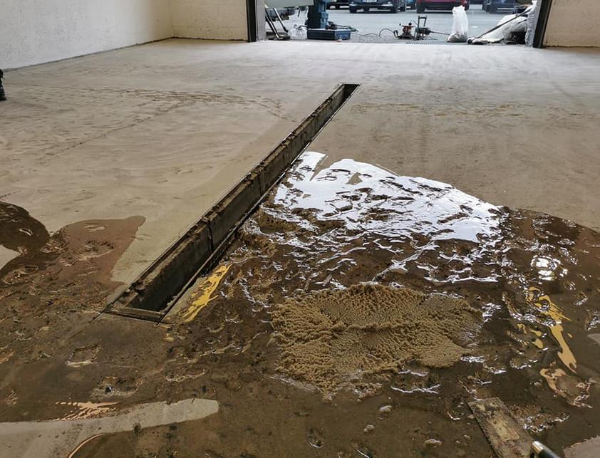 betong rehabilitering med epoxy mørtel