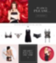 Lipsy Valentines Feature Design