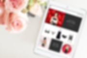 Lipsy Lingerie Valentines Feature - tablet