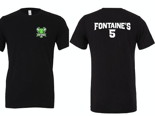 Fontaines5 logo Tee