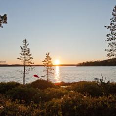 Kayaking North Finland
