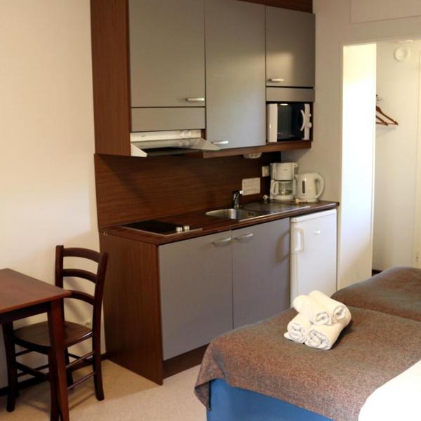 Studio hotel room in Oravi Saimaa