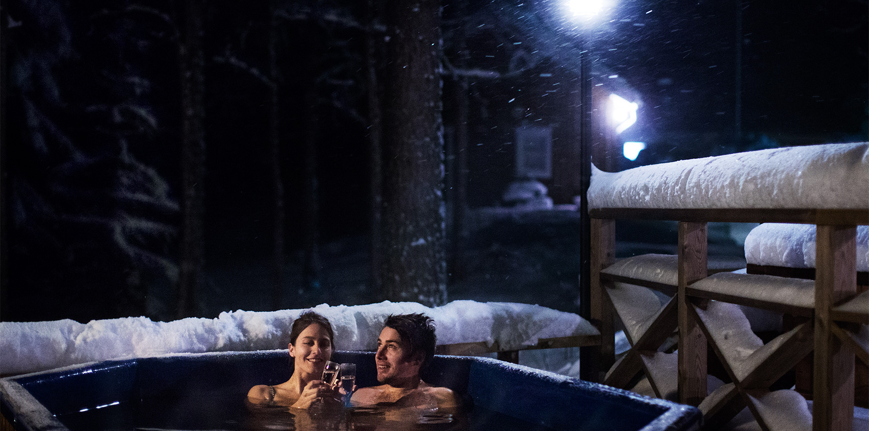 South Lapland Outdoor Company, hot tub