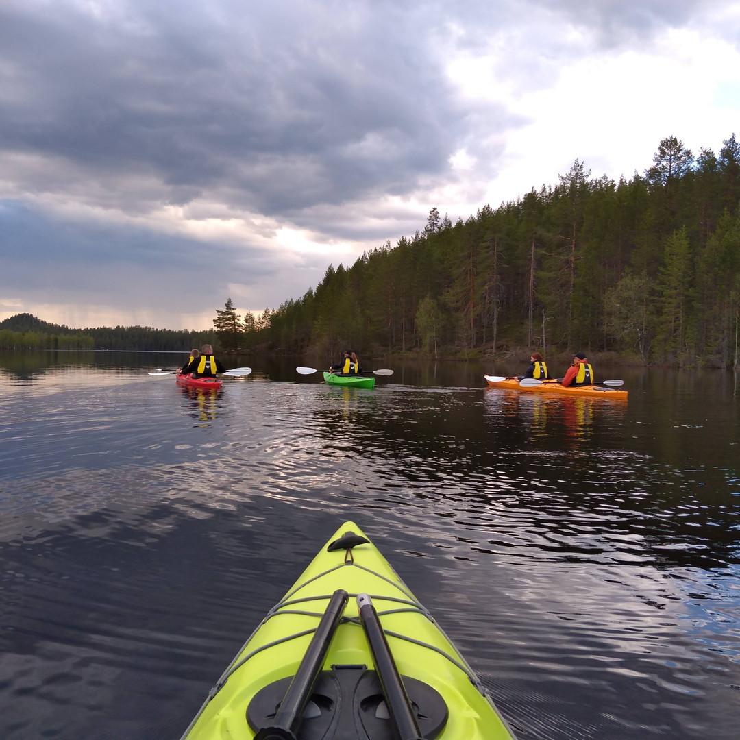 Kayaking tours in Saimaa Finaland Hikes'n Trails