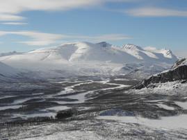 Rapadalen ski tour