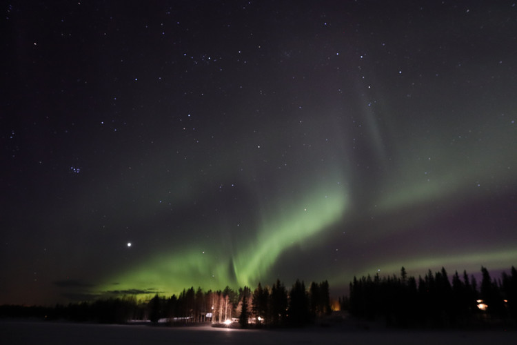 Northern Lights in South Lapland