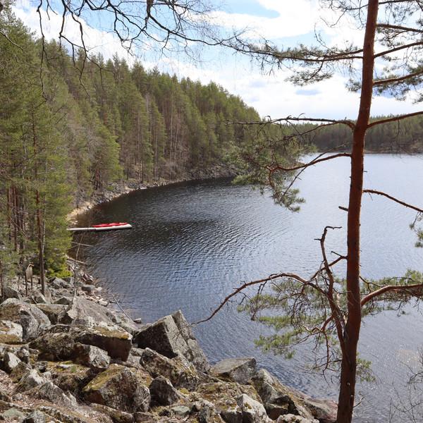 Saimaa kayaking & photographing tours in Linnansaari National Park