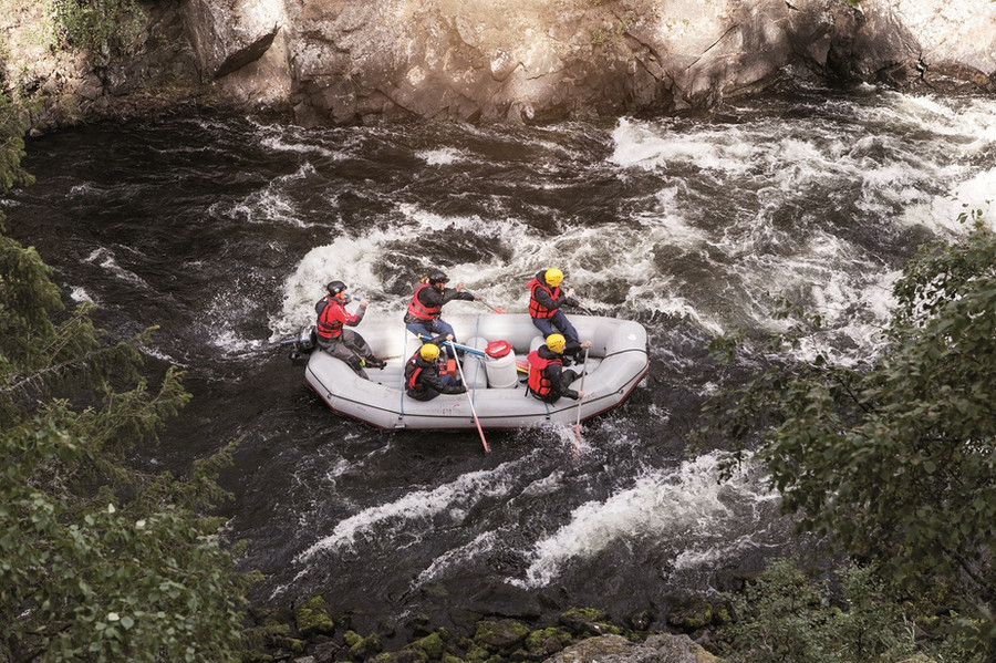 Rafting experience