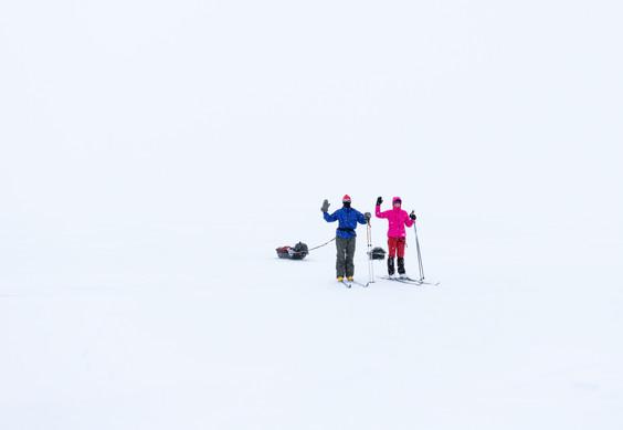 Lapland ski tour