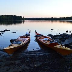 Kayaking Northern Finland, hikesntrails.com
