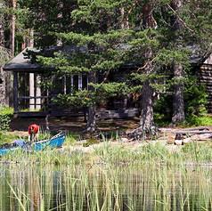 wilderness cabin in Lentua hikesntrails.com