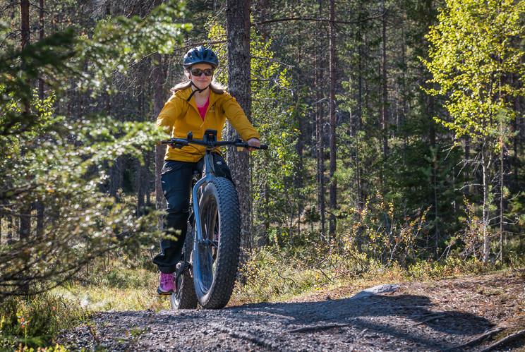 Mountain biking in Syöte