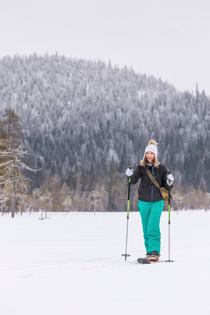 Backcountry Skiing trip in South Lapland