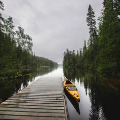 Kayaking Kainuu Wild Taiga