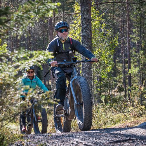 Hiking & biking tour in South Lapland