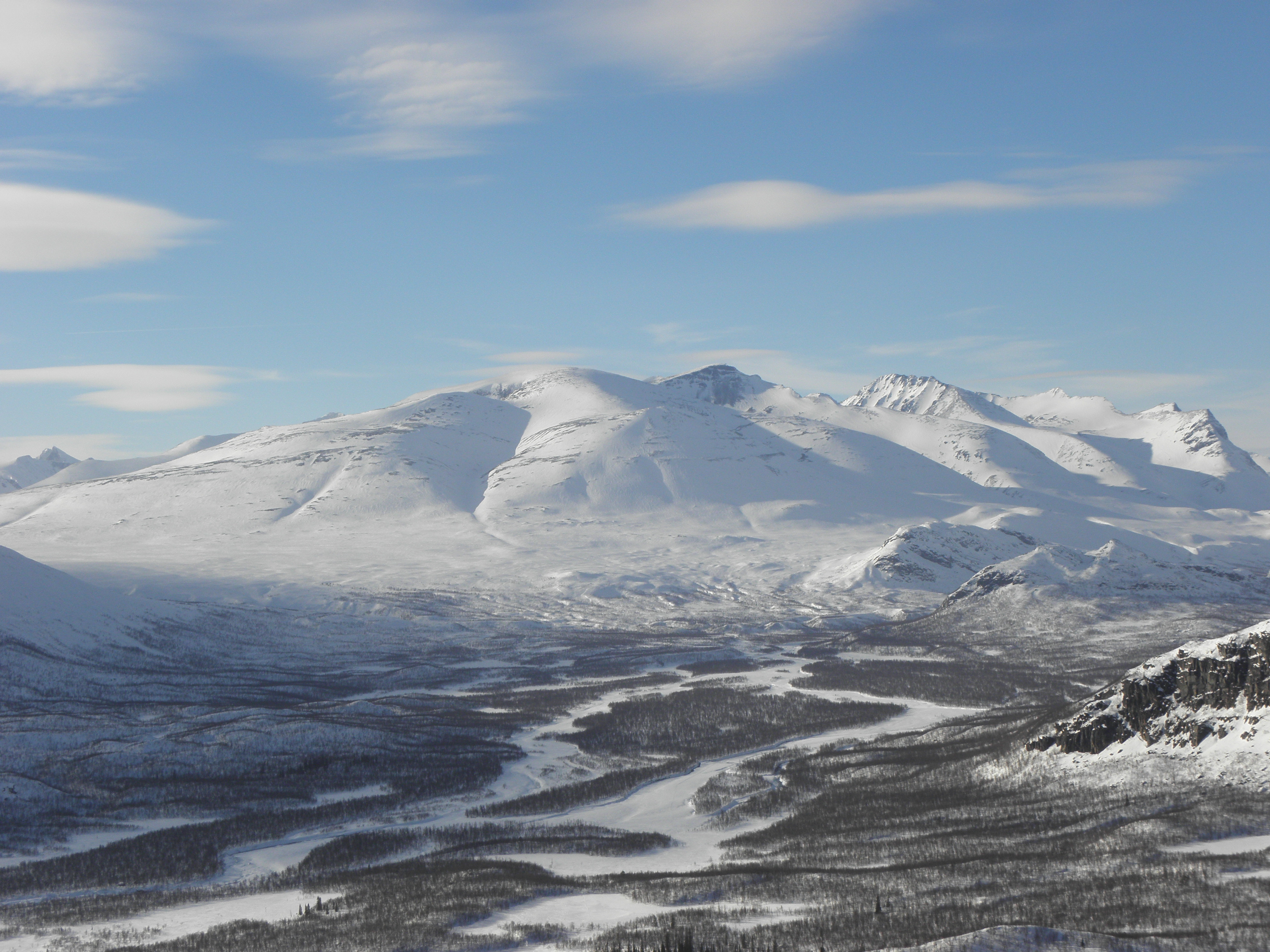 Guided tour in Swedish Lapland