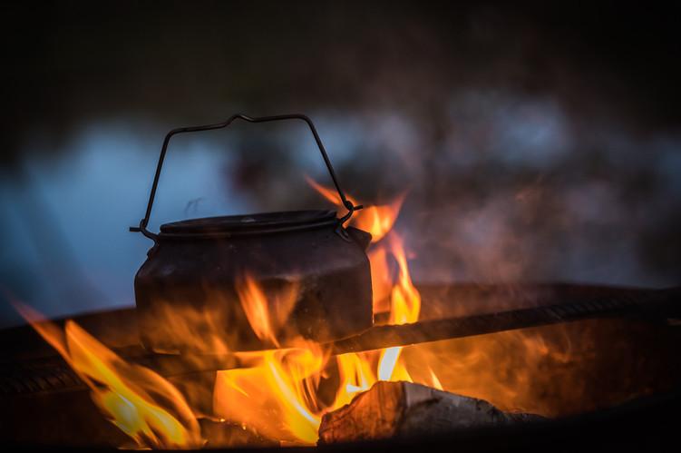 Open fire experience