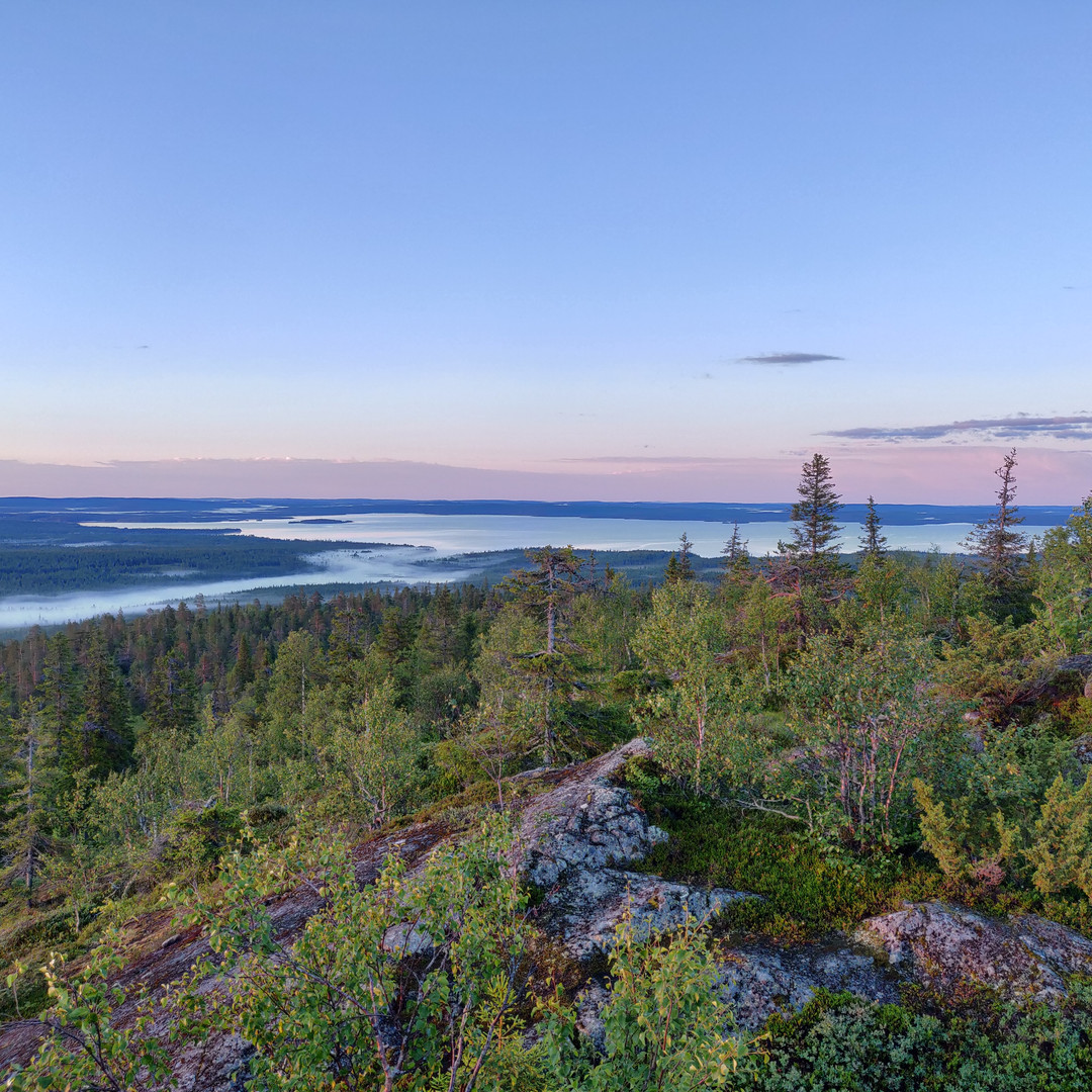 Fell view in Sout Lapland
