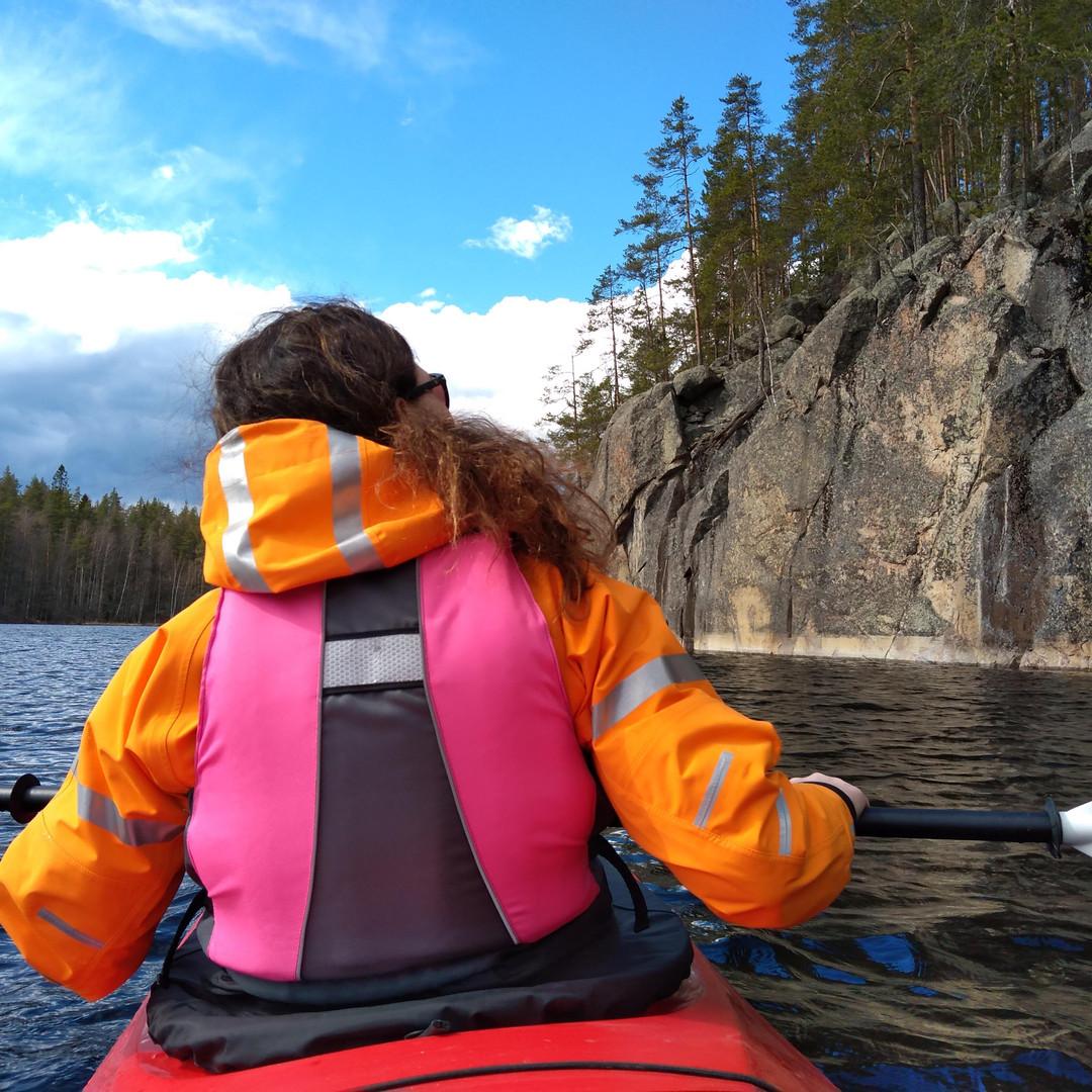 Linnansaari National Park kayaking tours Hikes'n Trails