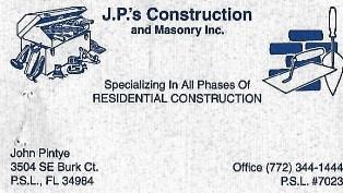 jps construction logo