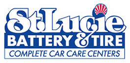 st lucie battery and tire logo