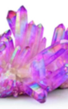 Amazing colorful Quartz Purple Titanium