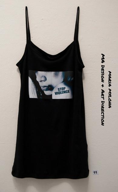 Stop Violance T Shirt