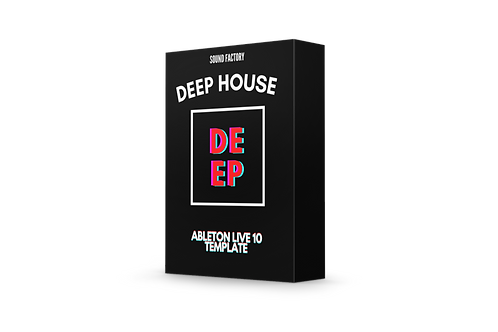 Deep House Style Drop - Ableton Live 10 Template