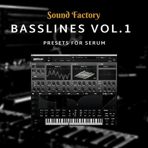 Basslines for Serum