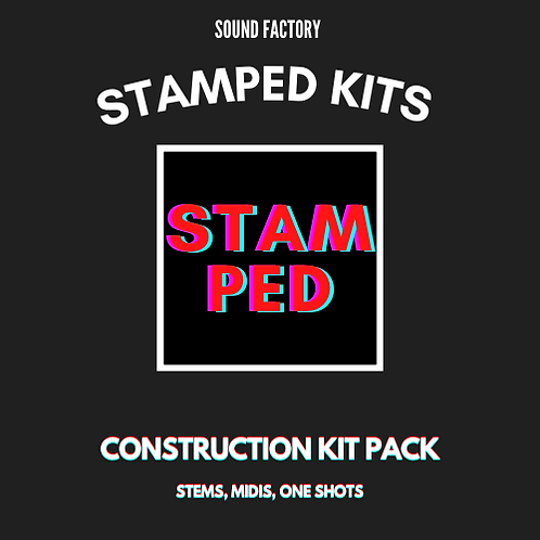 Stamped Kit Pack