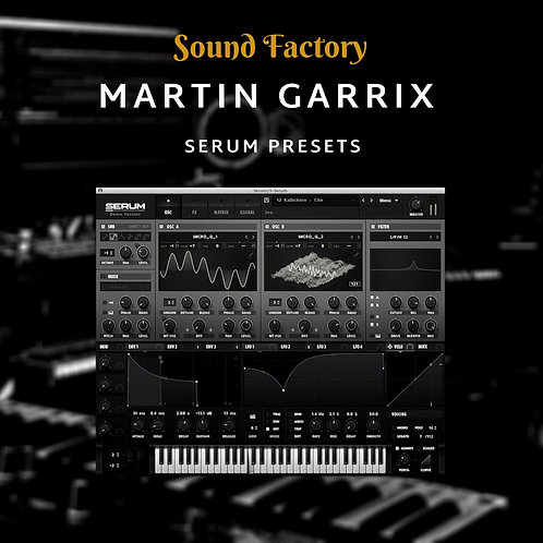 Martin Garrix for Serum