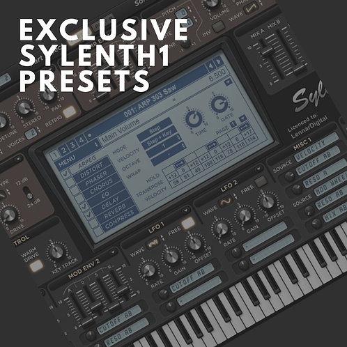Exclusive Sylenth 1 Presets (30 Presets)
