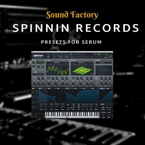 Spinnin Records for Serum