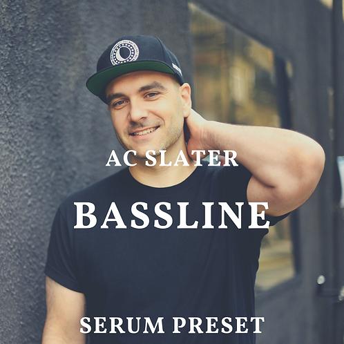 Ac Slater Bass for Serum