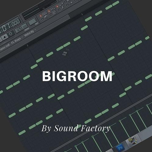 Bigroom Template inspired by Maddix (FL STUDIO)