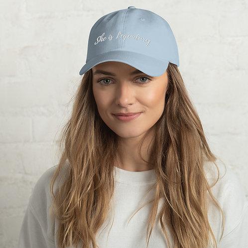 She is legendary hat