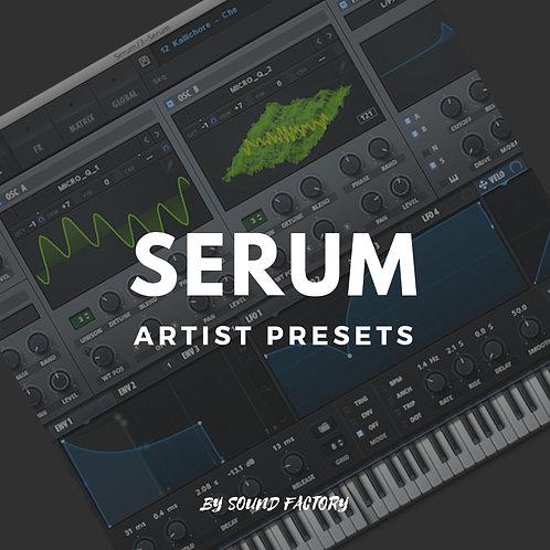 Serum Artist Presets