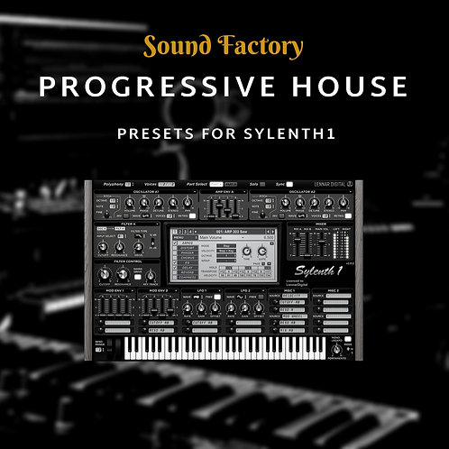 Progressive House for Sylenth1