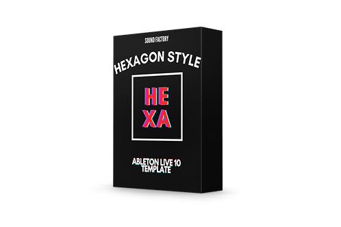 Hexagon Style Drop - Ableton Live 10 Template