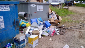 Muskoka Lakes water access & island residents waste collection pilot project; Bin Site Transition