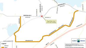 Aspdin Rd. in Huntsville scheduled for full CN Rail closure on Oct. 10