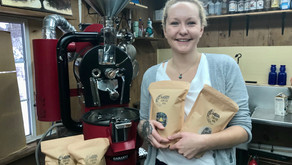 Bracebridge's Whitney Carter boldly steps into the java roasting world with her Moon Coffee Company