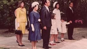 Fun Fact: At JFK's 1965 memorial dedication in Britain a Royal held John John's hand