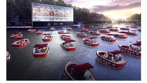 Could France's genius Boat-In Theatre be replicated in Muskoka?!