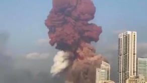 Beirut's 2,750 tonne ammonium nitrate explosion displaces 300,000 people